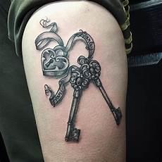 Skeleton Key And Lock Designs 85 Best Lock And Key Tattoos Designs Amp Meanings 2019