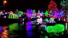 Alum Creek Of Lights Christmas Lights Indian Creek In Caldwell Youtube
