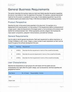 Sample Business Requirements Document Business Requirements Template Apple Iwork Pages Numbers
