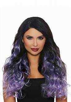 curly lavender ombre s hair extensions
