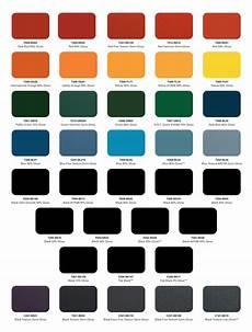 Powder Coat Colour Chart Nz Powder Coat Color Charts Mile High Powder Coating Inc