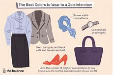 Second Interview Attire The Best Colors To Wear To A Job Interview
