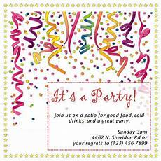 Free Party Invite Templates For Word 26 Free Printable Party Invitation Templates In Word Hloom