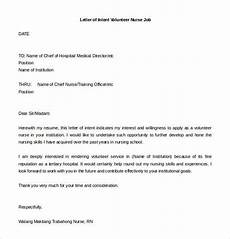 Cover Letter Of Intent Letter Of Intent For A Job 13 Free Word Pdf Documents