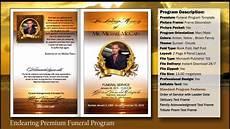 How To Make A Funeral Program Funeral Program Endearing Template Funeralprinter Com