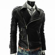zipper for coats s slim fit asymmetrical black zipper leather jacket