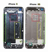 Image result for iPhone 5 vs 5S Back