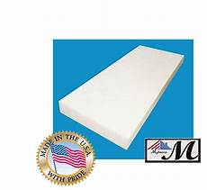 2 quot x 24 quot x 72 quot upholstery foam cushion medium density seat