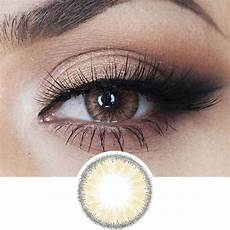Light Brown Eye Contact Lenses Buy Eyecandy S Desire Toffee Brown Colored Eye Contacts