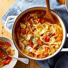 cabbage diet soup recipe eatingwell