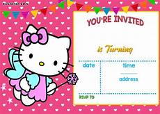 Hello Kitty Birthday Template Free Printable Hello Kitty Birthday Invitation Wording