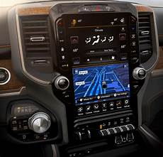 2019 dodge touch screen 2019 ram 1500 longhorn screen technology the fast truck