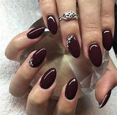 Burgundy And Black Nail Designs 50 Amazing Burgundy Nails You Definately Have To Try