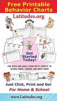 And Doug Behavior Chart Behavior Charts Free Printables For Kids