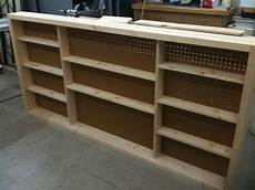 shallow shop wall cabinet with sliding doors by
