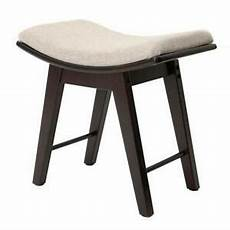 vanity stool rubberwood legs makeup bench dressing chair