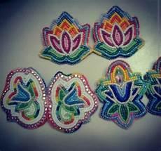 beadwork floral floral earrings beadwork beadwork