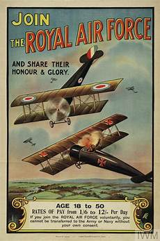 Royal Air Force Designs Join The Royal Air Force Art Iwm Pst 5277