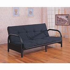 small futon bed coaster metal size futon frame with small armrest in