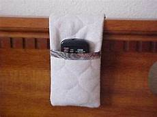 tv remote bed headboard caddy holder great gift