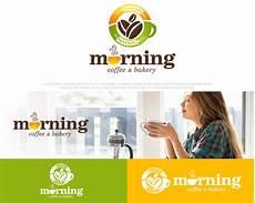 sribu logo design logo desain untuk morning coffee dan ba