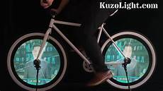 Bicycle Wheel Lights Youtube The Worlds Most Powerful Led Bicycle Wheel Light Youtube