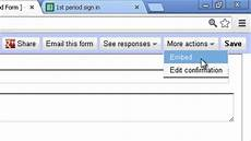 Google Forms Attendance Template Documenting Attendance Using Google Forms Youtube