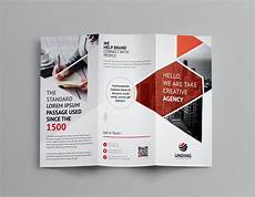 3 Fold Brochure Templates Aether Corporate Tri Fold Brochure Template 001160