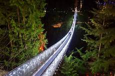 Capilano Suspension Bridge Canyon Lights Tickets Canyon Lights At Capilano Suspension Bridge Park Win