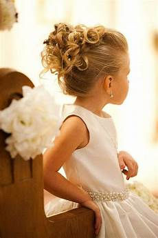 38 super cute little girl hairstyles for wedding deer