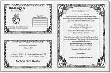 contoh undangan resepsi di facebook contoh isi undangan