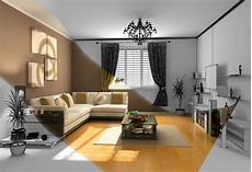 Room Wallpapers Interior Room Apartment Sofa Pillow Table Tv Flower