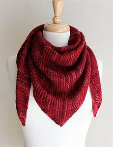 knitting scarves free knitting patterns truly triangular scarf knitting