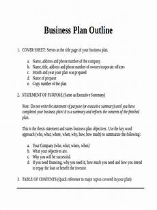 Standard Business Plan Outline Free 37 Outline Examples Amp Samples In Doc Pages Examples