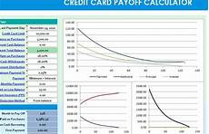 Credit Card Payoff Calc Credit Card Payoff Calculator My Excel Templates