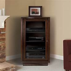shop bell o av component cabinet with adjustable shelves