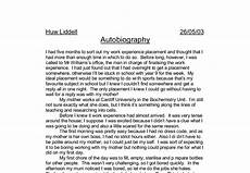 How To Write A Autobiography Essay How To Write An Autobiography Essay About Myself