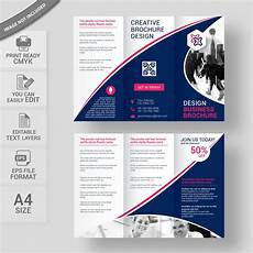 Tri Fold Poster Templates Corporate Tri Fold Brochure Template Free Download Wisxi Com