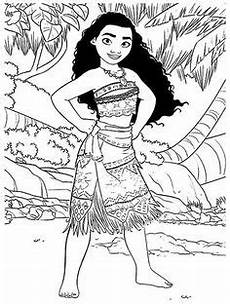 moana and pig coloring pages for in 2020 moana