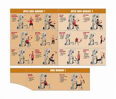 Free Weight Training Chart Free 9 Sample Workout Chart Templates In Pdf Ms Word