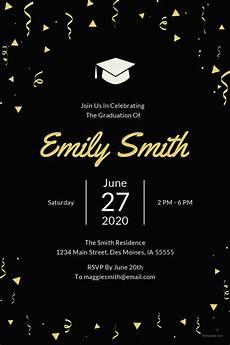 Graduation Invitation Maker Free 27 Graduation Invitation Templates Free Sample Example