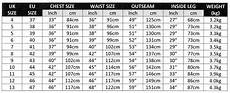 Chest Wader Size Chart Koala Products 174 5mm Neoprene Fishing Chest Waders Various
