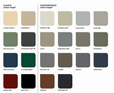 Roof Paint Colour Chart Colorbond Colours The Mighty Roofer Brisbane