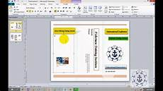 Brochure Microsoft How To Create Brochures In Microsoft Publisher 2010