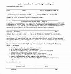 Sample Letter Of Recommendation For New Graduate Nurse Free 45 Sample Letters Of Recommendation For Graduate
