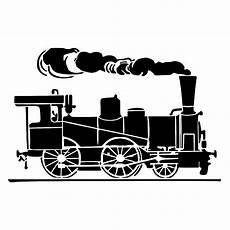 Train Stencil Printable Steam Train Locomotive Stencil Locomotive Train Drawing