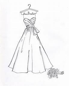 custom wedding dress sketch by drawthedress on etsy 50