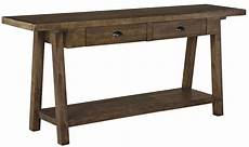 dondie rustic brown sofa table from coleman furniture