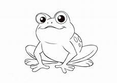 Malvorlage Frosch Im Teich 8 Beste Ausmalbilder Frosch Vorlage Kostenlos Drucken