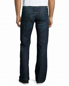 7 For All Mankind Men S Jeans Size Chart 7 For All Mankind Denim Standard Jeans In Blue For Men Lyst
